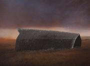 Downed Barn, 1995